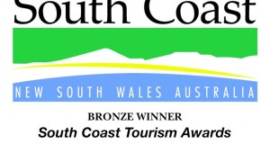 South Coast Tourism Award Winner for 2013